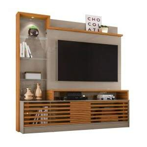 Home Theater Frizz Prime Fendi/Naturale - Madetec