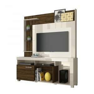 Home Theater Icaro para TV de até 50'' - Off White..